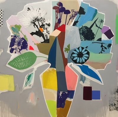 Emily Filler, 'Bouquet (rainbow vase)', 2020