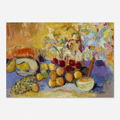 Humbert L. Howard, 'Untitled (still life with fruit)', 1968