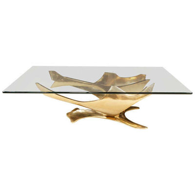 Fred Brouard, 'bronze Sculpture cocktail Table', ca. 1960
