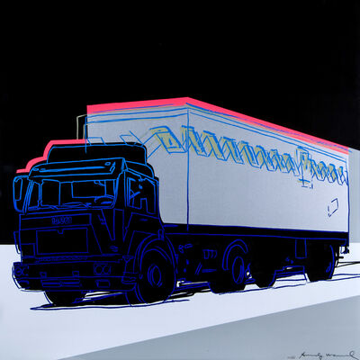 Andy Warhol, 'Truck: Feldman & Schellmann II. 370', 1985