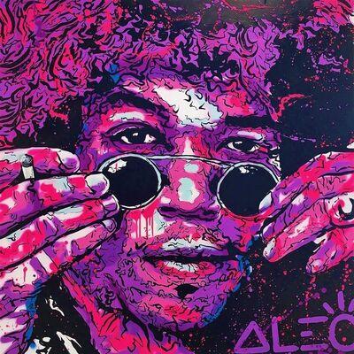 Alec Monopoly, 'Jimi Hendrix ', 2019