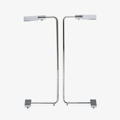 Cedric Hartman, 'Pair of adjustable floor lamps, Omaha, NE'