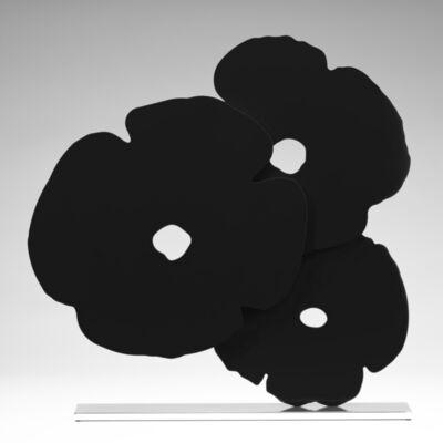 Donald Sultan, 'Black Poppies', 2017