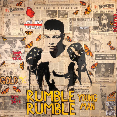 Patrick Burns, 'Rumble Rumble Young Man', 2018