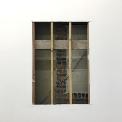 Sonya Blesofsky, 'Fenestration 1 (Brick Window)', 2018