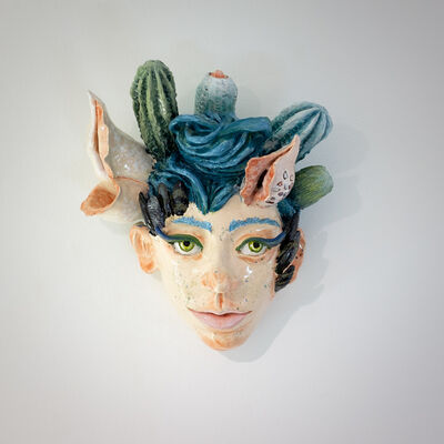 Agathe Brahami-Ferron, 'Tête murale', 2018