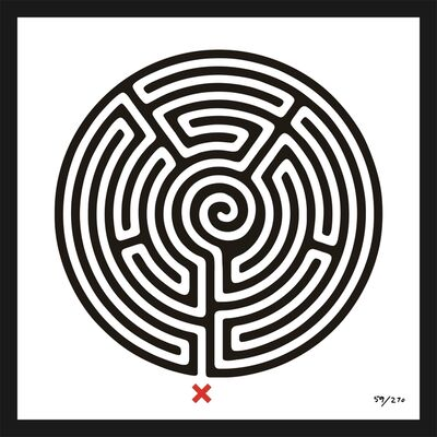Mark Wallinger, 'Labyrinth #59 Regent's Park', 2013