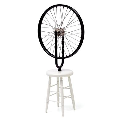 "Marcel Duchamp, 'Bicycle Wheel Sculpture (Limited Edition 9"" Working Replica Exclusively for the Philadelphia Museum of Art) ', 2002"