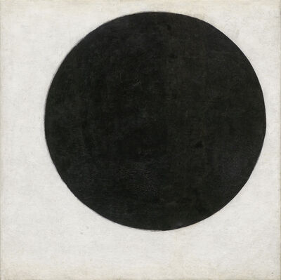 Kasimir Severinovich Malevich, 'Plane in Rotation, called Black Circle', 1915