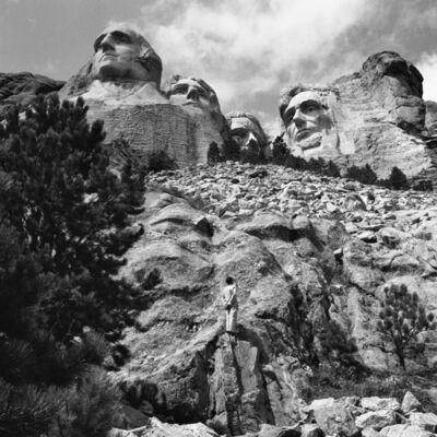 Tseng Kwong Chi, 'Shrine of Democracy: Mount Rushmore, Black Hills, South Dakota', 1986
