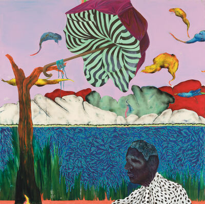 Simphiwe Ndzube, 'In Search of the Sacred Stone', 2018