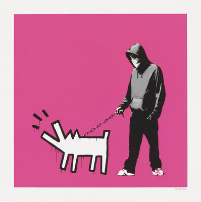 Banksy, 'Choose Your Weapon (Magenta)', 2010