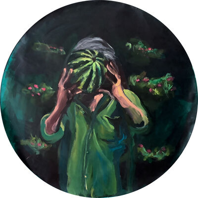 Yassine Balbzioui, 'Green Sight', 2019