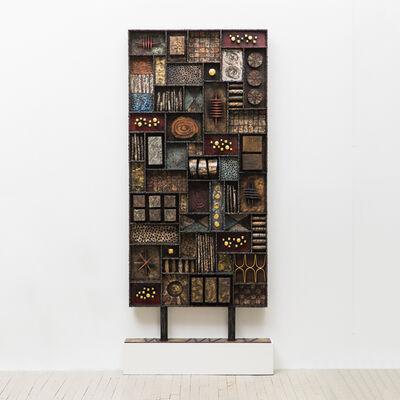 Paul Evans, 'Rare Sculpture Front Screen', 1969