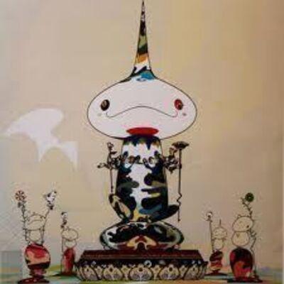 Takashi Murakami, 'Reverse Double Helix-Megapower', 2005