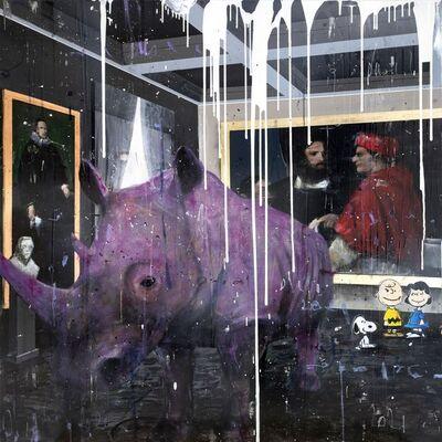 Angelo Accardi, 'Big Violet Rhino', 2021