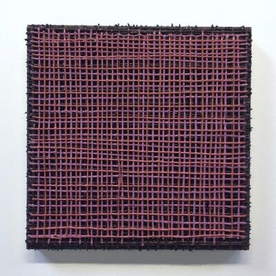 Vicky Christou, 'Open Alizarin Grid', 2018