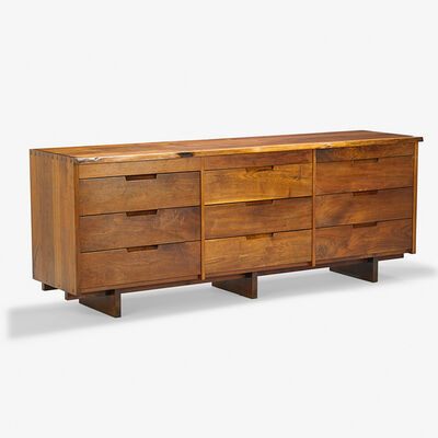 George Nakashima, 'Triple Chest of Drawers, New Hope, PA', 1974