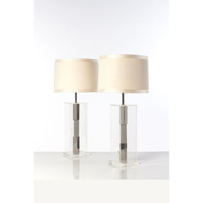 Laurel Lamp Company, 'Pair Of Table Lamps', 1970