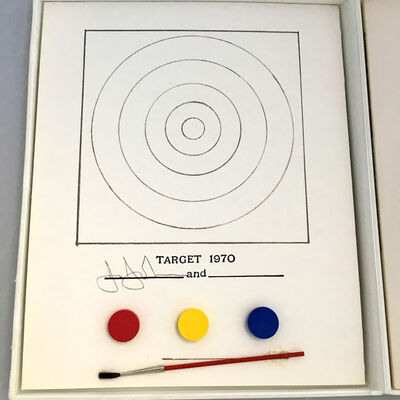 Jasper Johns, 'Jasper Johns Target and Technics (MoMa 1971) ', 1971