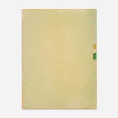 Jules Olitski, 'Graphite Suite I (Yellow / Green with Flesh)', 1970