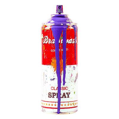 Mr. Brainwash, 'Spray Can (Purple)', 2013