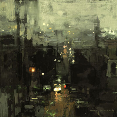 Jeremy Mann, 'Cityscape - Composed Form Study No. 25'