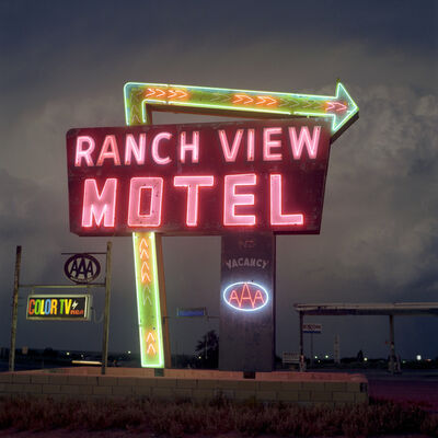 Steve Fitch, 'Highways 54, 60 &285, Vaughn New Mexico, June 1979', 1979