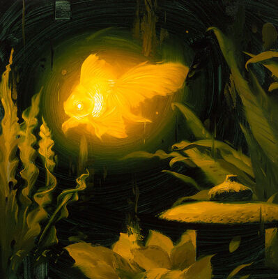 Rob Rey, 'Bioluminescence Goldie', 2018