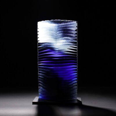 Colin Reid, 'Colour Saturation; Cobalt Blue Column', 2019
