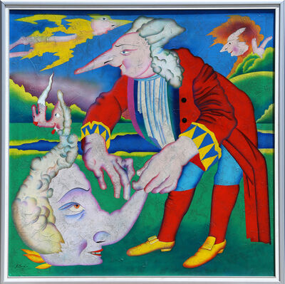 Mihail Chemiakin, 'Saint Petersburg Delerium 1', 1990