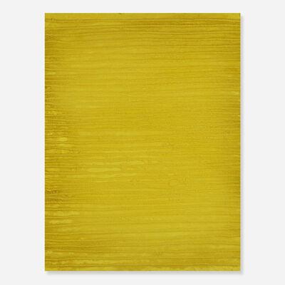Sara Sosnowy, 'Twine + Panel (yellow)', c. 1995