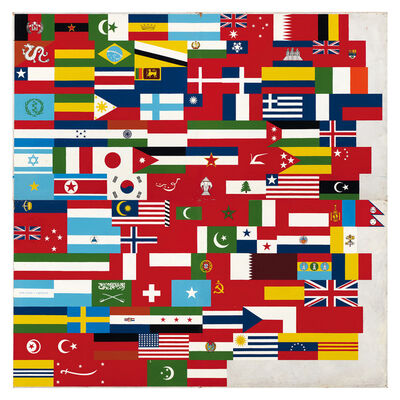 Poul Gernes, ' Untitled ( Flag Painting)', 1965