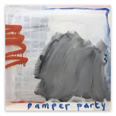Tim Fawcett, 'Pamper Party (Abstract painting)', 2020