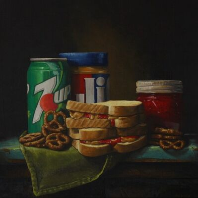 Hickory Mertsching, 'PB&J with Pretzels', 2019