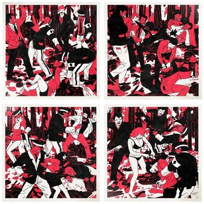 Cleon Peterson, 'The Occupation (four works)', 2008