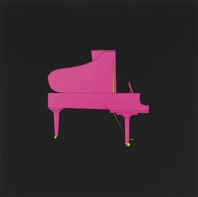 Michael Craig-Martin, 'Piano', 2019