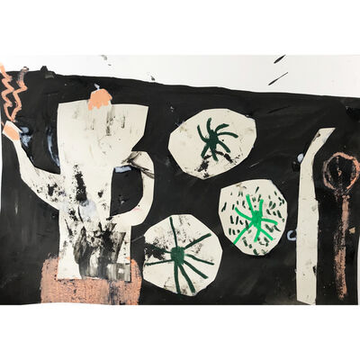 Florence Hutchings, 'The Black Table Cloth II', 2020