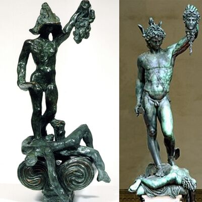 Salvador Dalí, 'Perseus with Head of Medusa- Homage to Benvenuto Cellini', 1976