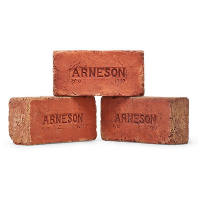 Robert Arneson, 'Three Arneson Bricks, California', 1969