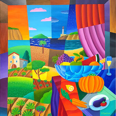 Philip Stanton, 'Mediterranian limoncello', 2019
