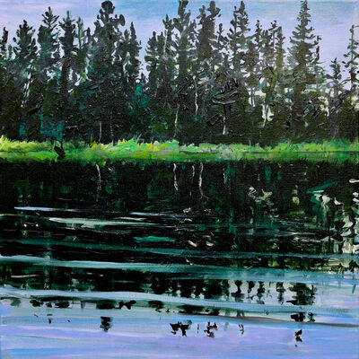 Rebecca Perehudoff, 'Floating ', 2020