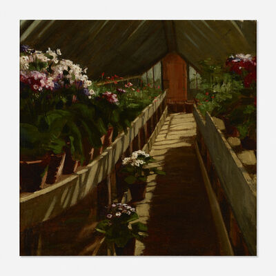 Abbott Fuller Graves, 'Untitled (greenhouse)'