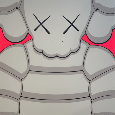 KAWS, 'What Party (Grey)', 2020