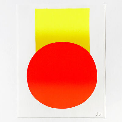 Rupprecht Geiger, 'Yellow to Orange', 2003