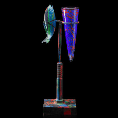 Italo Scanga, 'Untitled sculpture (Fish on Stand)', 1994