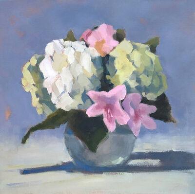Lesley Powell, 'Hydrangea Centerpiece with Azaleas', 2019