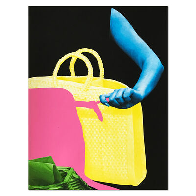 John Baldessari, 'Two Bags and Envelope Holder', 2011