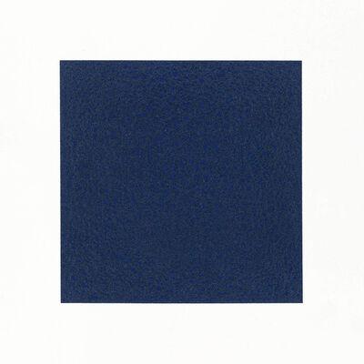 Nicole Phungrasamee Fein, '21.01.21.00 Sodalite Genuine Ultramarine Blue ', 2021