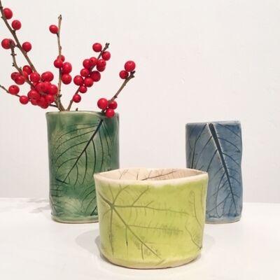 Jolie Stahl, 'Hydrangea Leaf Vessels', 2019